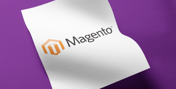 Magento Flyer purple