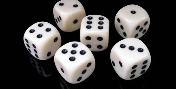 dice from 1 to 6
