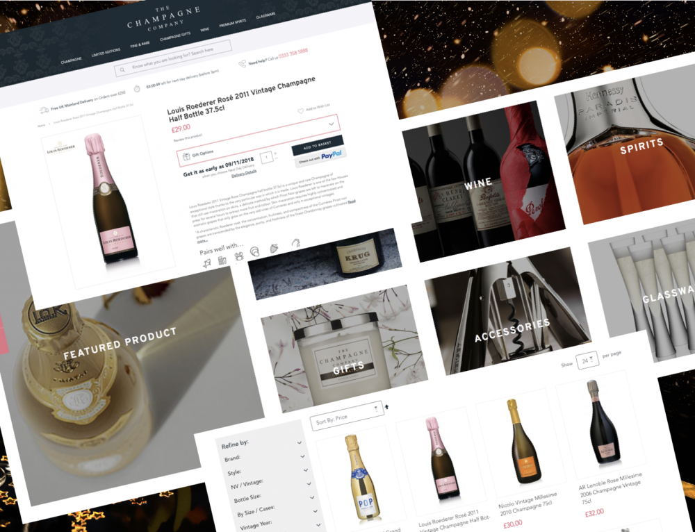 The Champagne Company Screenshot